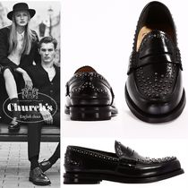 Church's Mocassin Pembrey black with Studs
