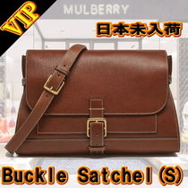 "◆VIP◆ キャサリン妃愛用  Mulberry   ""Buckle"" Satchel (S)"