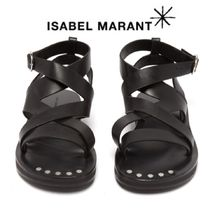 【19SS】ISABEL MARANT★Noelly leather crossover sandals