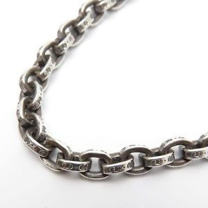 CHROME HEARTS ネックレス・チョーカー chrome hearts paper chain necklace20 インチ インボイス付き(4)