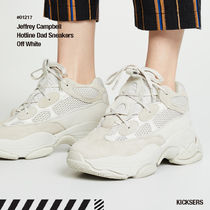 人気話題!Jeffrey Campbell Hotline Dad Sneakers Off White