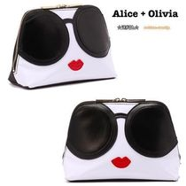 Alice+Olivia(アリスオリビア) メイクポーチ ◎国内買付 Alice+Olivia STACEYFACE  メイクポーチ◎