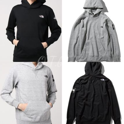 The North Face☆Square Logo Hoodie/ロゴパーカー/ユニセックス