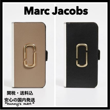【MARC JACOBS】手帳型 iPhone XR ケース