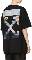 Off-White ★ COLORED ARROWS S/S OVER 絵画  カラー Tシャツ 黒