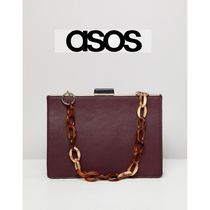 ASOS★frame bag with statement chain
