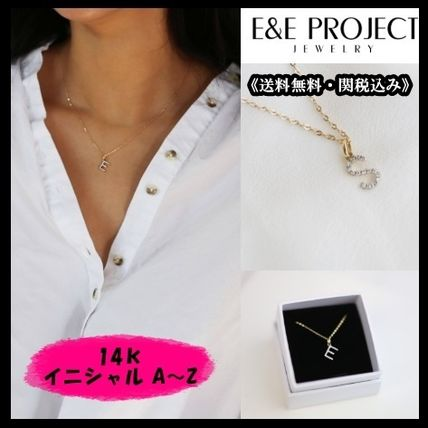 E and E PROJECT★ギフトにピッタリ♪ A~Zイニシャルペンダント