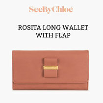 [See By Chloe]  ROSITA LONG WALLET WITH FLAP