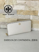 即発 TORY BURCH★EMERSON ZIP CONTINENTAL 長財布