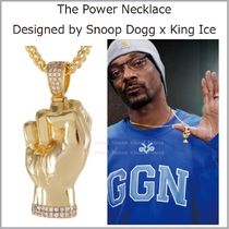 【King Ice x Snoop Dogg】The Power ネックレス☆国内発送
