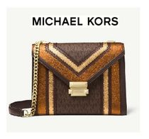 Michael Kors Whitney Large Logo Convertible Shoulder Bag