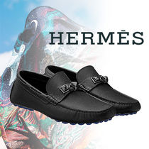 HERMES(エルメス) Irving loafer Collier de Chien カーフスキン