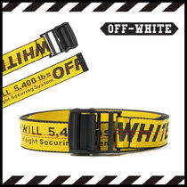 Off-White Industrial lロゴ ベルト【国内発】