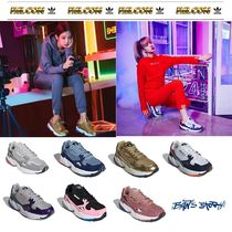 【adidas】 originals  Falcon _ BLACK PINK着用 7COLOR