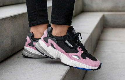 adidas スニーカー 【adidas】 originals  Falcon _ BLACK PINK着用 7COLOR(8)