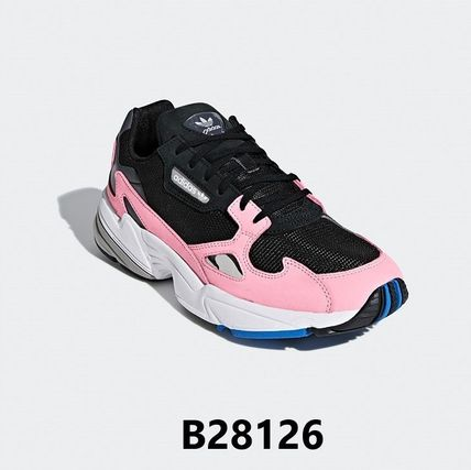 adidas スニーカー 【adidas】 originals  Falcon _ BLACK PINK着用 7COLOR(9)