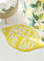 【Urban outfitters】Squeeze The Day☆レモンバスマット