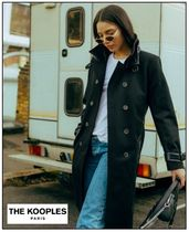 The kooples(クープルズ) コート SALE◆◇即売切れ!◆THE KOOPLES★BLACK WOOL CLOTH TRENCH COAT