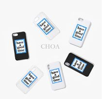 【have a good time】BLUE FRAME IPHONE CASE■スマホケース■