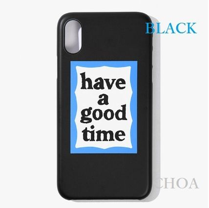 have a good time スマホケース・テックアクセサリー 【have a good time】BLUE FRAME IPHONE CASE■スマホケース■(6)