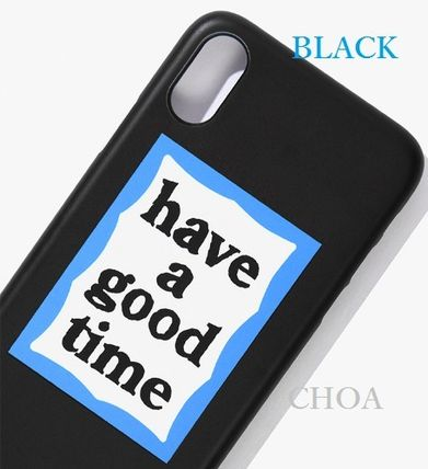 have a good time スマホケース・テックアクセサリー 【have a good time】BLUE FRAME IPHONE CASE■スマホケース■(8)