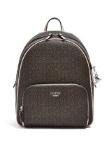 追尾/関税/送料込 GUESS ELIZE LOGO BACKPACK