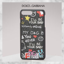 【Dolce & Gabbana】Graffiti iPhone 7 Plus ケース