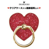 ☆SWAROVSKI☆ Glam Rockスマホリング
