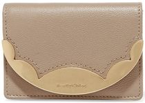 ★関税負担★SEE BY CHLOE★METAL TEXTURED-LEATHER WALLET