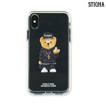 [STIGMA]PHONE CASE COMPTON BEAR CLEAR IPHONE XS/ XS MAX/ XR