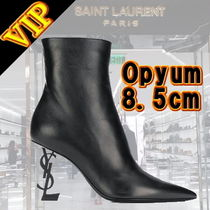 "◆◆VIP◆◆ Saint Laurent  ""Opyum"" 8.5cm アンクル ブーツ"