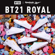 Reebok☆BT21☆ROYAL COMPLETE2LCS☆