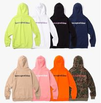 【HAVE A GOOD TIME】SIDE LOGO PULL OVER HOODIE  パーカー 8色