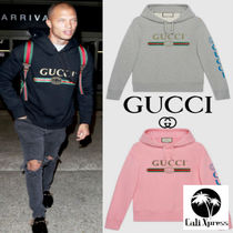 日本未入荷☆18-19AW GUCCI★グッチ Dragon and Logo sweatshirt