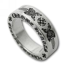 CHROME HEARTS6mm spacer ring DAGGERインボイス付き