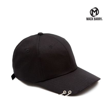【国内発送・送料無料】MACK BARRY MACK CURVE RING CAP BLACK