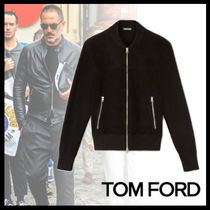 "TOM FORD▼新作""人と差がつく""SUEDE FRONT ボンバージャケット"