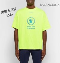 ☆BALENCIAGA☆ World Food Programme コットンTシャツ