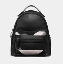 Coach ◆ 38674 Campus backpack with patchwork