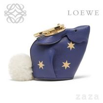 LOEWE★ロエベ Bunny Stars Charm Royal Blue/Gold