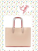 Christian Louboutin/Cabata grained-leather tote