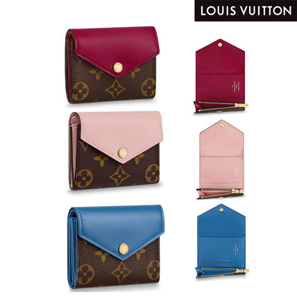 Louis Vuitton 折りたたみ財布 ルイヴィトン★LVポルトフォイユ・ゾエ・コンパクト財布[直営店]