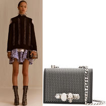 19SS AM461 LOOK14 STUDDED SMALL JEWELED SATCHEL
