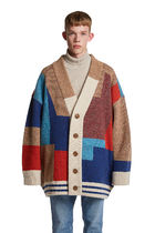 大人気!【TRUNKPROJECT】Color Mixed Wool Cardigan Jacket