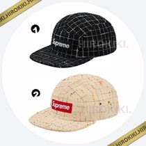 18AW /Supreme Boucle Camp Cap ブークレ キャンプキャップ 2色