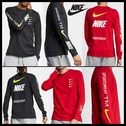 完売必至!国内未入荷Colorあり!NIKE Micro Logo Long T-Shirts