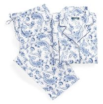 Paisley Cotton Sleep Set