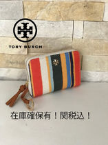 TORY BURCH★KERRINGTON ZIP COIN CASE キーリング付き*1月新作