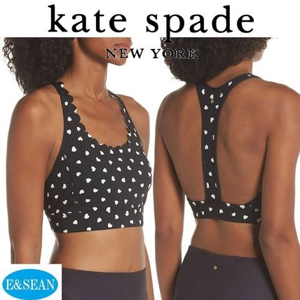 kate spade new york レディース・トップス 【KATE SPADE】heartbeatスポーツブラ