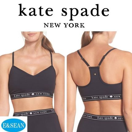 kate spade new york レディース・トップス 【KATE SPADE】ロゴ入りスポーツブラ